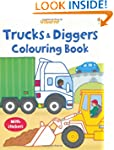 Trucks And Diggers Colouring Book St