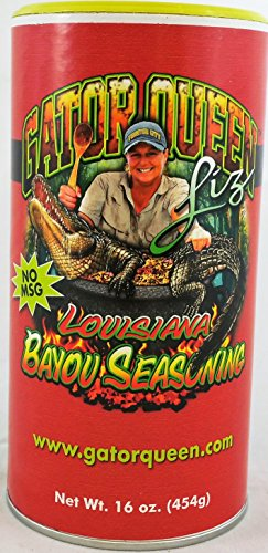 Gator Queen Liz Louisiana Bayou Seasoning Elizabeth Choate from
