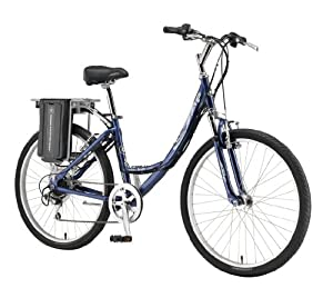 Currie Technologies eZip Women's Low Step-Thru Trailz Electric Bicycle, Blue