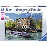 Ravensburger 19138 - Puzzle de 1000 piezas, diseño canal de Ámsterdam