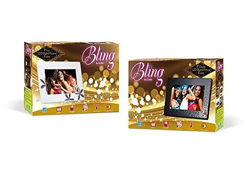 GiiNii GB-711P-2 Digital Frame - 7 Digital Frame - Black Dazzle - JPEG