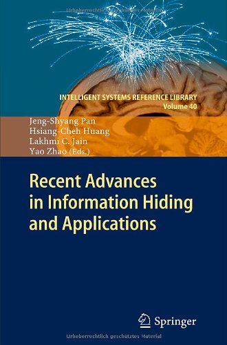Recent Advances in Information Hiding and Applications