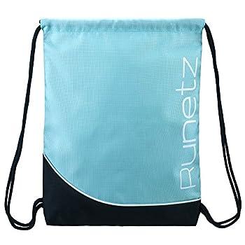 Runetz - Gym Sack Bag Drawstring Backpack Sport Bag for Men & Women Sackpack