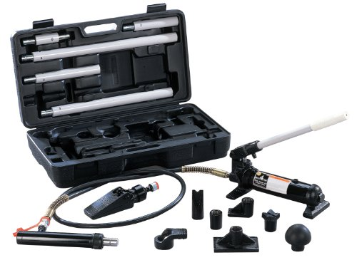 Omega 50040 Black Hydraulic Body Repair Kit - 4 Ton Capacity front-552901