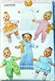 """OOP Butterick Pattern 5229 or 161. Clothes for S;M;L (14-21"""") Baby Dolls"""