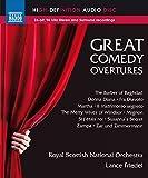Royal Scottish National Orchestra - Various:Comedy Overtures [Royal Scottish National Orchestra , Lance Friedel] [NAXOS: NBD0043] [DVD AUDIO]