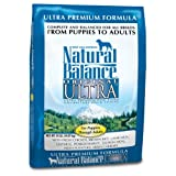 Natural Balance Dry Dog Food, Ultra Premium Formula, 33 Pound Bag
