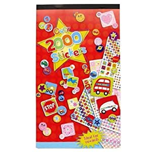 Kids Create STICKER BOOK {Over 2000 Stickers - Ideal for Rewards}