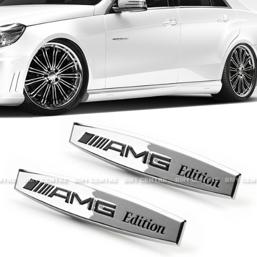 2x-amg-3d-chrome-metal-fender-side-shield-liner-emblem-badge-for-mercedes-benz