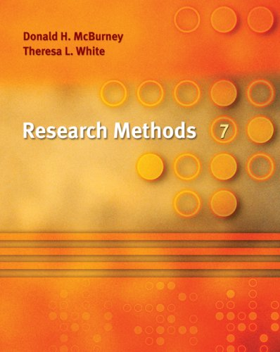 Research Methods, 7th Edition