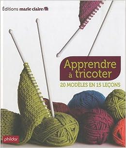 apprendre a tricoter livre