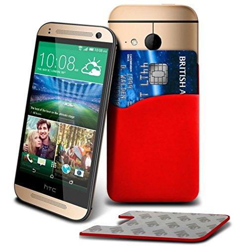 (Red) Nokia 130 Dual SIM, Nokia 130, Nokia Lumia 530 Dual SIM, Nokia Lumia 530 Dual SIM RM-1019, Nokia Lumia 530, Nokia Lumia 530 RM-1017, Nokia X2 Dual SIM, Nokia X2 RM-1013, Nokia X2DS Premium Custom Made Protective Slim Silicon Stick On Adhesive Smart