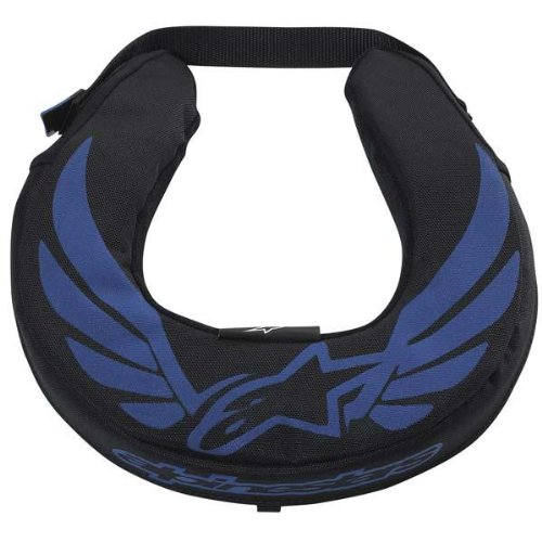 Alpinestars  Youth Neck Roll - One size fits most/Black/Blue