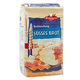 Bielmeier-Küchenmeister Brotbackmischung Süßes Brot, 15er...