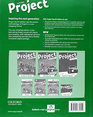Project 3: Teacher's Book Pack 4th Edition (Project Fourth Edition)