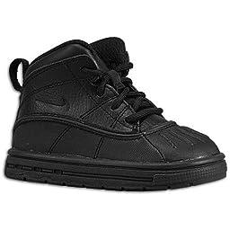 Nike (Td) Toddler Woodside 2 High Boots, Black, 4 M Us