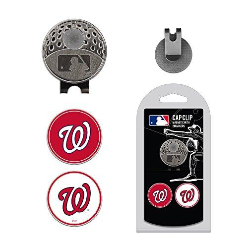 MLB Washington Nationals 2 MKR Cap Clip, Navy