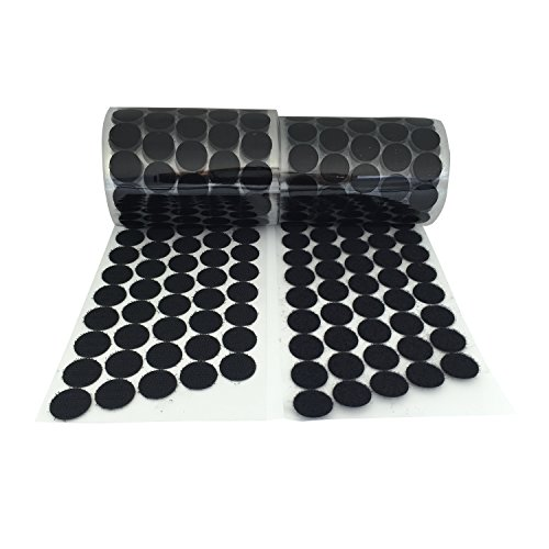 Cheap Vkey (500 Pair Sets) 20mm Diameter Sticky Back Coins Hook & Loop Self Adhesive Dots Tapes ...
