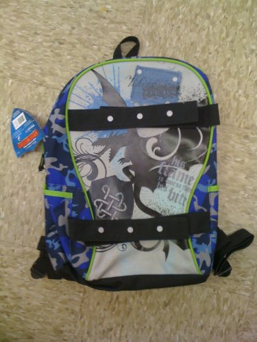 Dreamworks How to Train Your Dragon Toothless Night Fury Backpack blue cammo