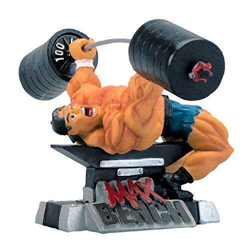 New MAX Bench Xtreme Figurine Bodybuilding Weightlifting Collectible Statue