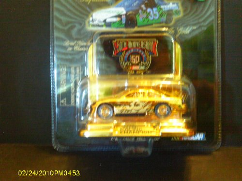 #35 NASCAR 50th Anniversary 24KGold Plated Commemorative Series