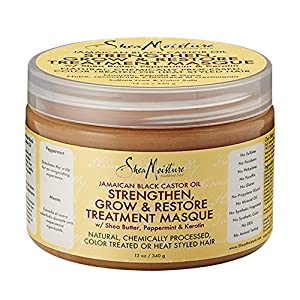 SheaMoisture Jamaican Black Castor Oil Intensive Strengthening Masque - 12 oz