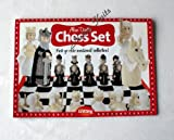 Alan Dart Toy Chess Set by Alan Dart Mediaeval collection Knitting Pattern + Knitting Needles for Toys (Simply Knitting Magazine Supplement)