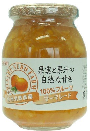 信州須藤農園 100%フルーツ マーマレード 430g