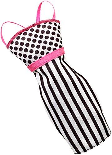 Barbie Fashions Dress, Stripes & Dots - 1