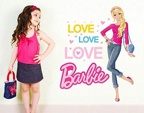 Klebefieber DS 1005-B Wandtattoo Love Barbie B x H: 60cm x 76cm (erhältlich in 10 Größen) jetzt kaufen