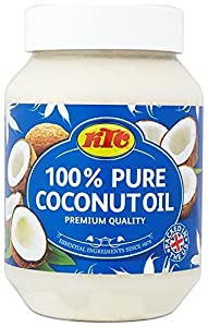 KTC Pure 100% Multipurpose Coconut Oil - Used For Hair, Cooking, Moisturiser
