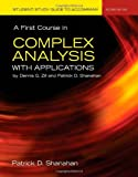 Student Study Guide To Accompany A First Course In Complex Analysis With Applications