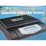 NEW 55lb DIGITAL POSTAL SHIPPING KITCHEN SCALE + AC ADAPTOR ~ TheSupplyCabinet