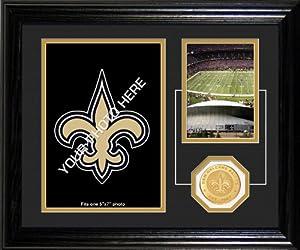 NFL New Orleans Saints Fan Memories Desktop Photo Mint by Highland Mint