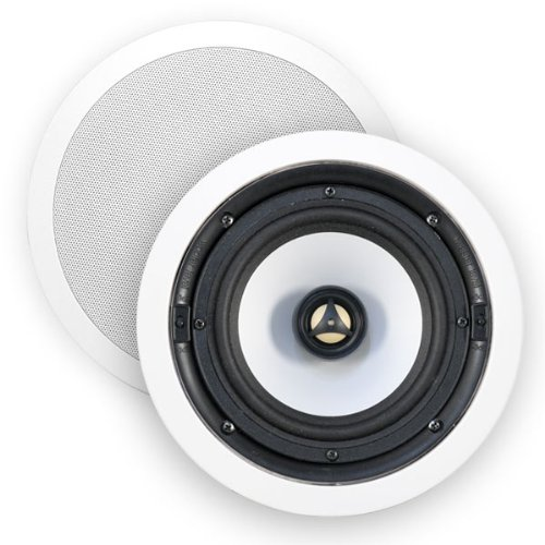 """Htd Hd-R65 High Definition 6 1/2"""" In-Ceiling Speakers - (Pair)"""