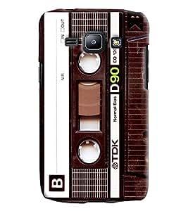 Clarks Printed Designer Back Cover For Samsung Galaxy J1