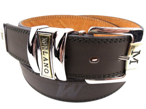 Mens-Brown-Leather-Belt-Designed-By-Milano-2757