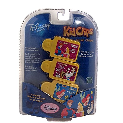 Disney Tunes Kid Clips Princess 3 Pack with Music from Little Mermaid, Sleepi... (Disney Tunes Kid Clips compare prices)