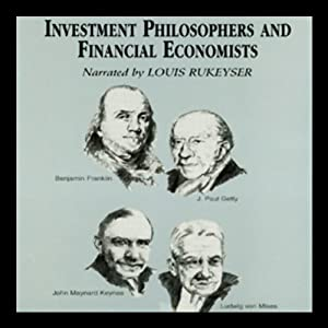 Investment Philosophers and Financial Economists Audiobook