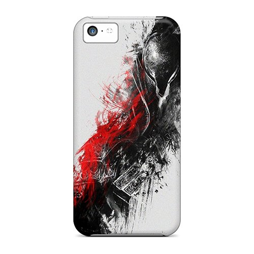 Fashion Tpu Case For Iphone 5C- Dark Souls Defender Case Cover