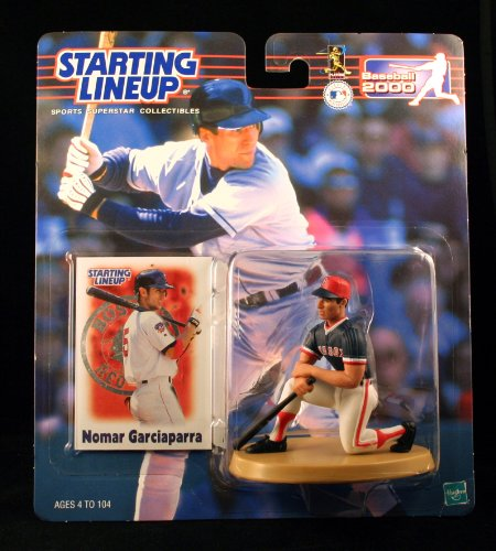 NOMAR GARCIAPARRA / BOSTON RED SOX 2000 MLB Starting Lineup Action Figure & Exclusive Collector Trading Card