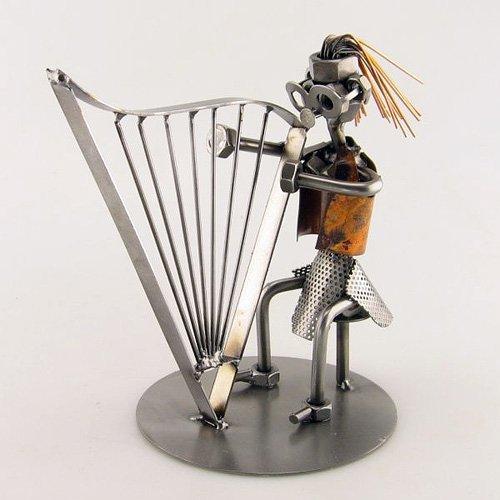 Schraubenmnnchen-Harfe-Schnes-Geschenk-fr-Musiker