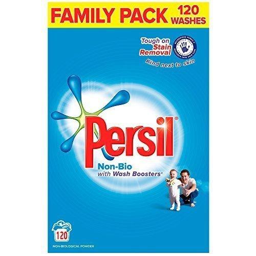 Persil Non-Bio Laundry Powder, 120 Wash