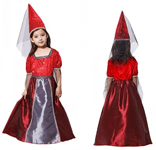 Purplebox Children Halloween Witch Costume Witch Dress Cosplay Clothes