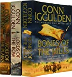 Conn Iggulden Conn Iggulden Conqueror Series 3 Books Set Collection RRP : 22.97 ( Wolf of the Plains, Lords of the Bow, Bones of the Hills: The Epic Story of the great Conqueror )(Conn Iggulden (Conqueror))