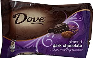 Dove Dark Chocolate Almond Promises, 8.5-Ounce Packages (Pack of 4)