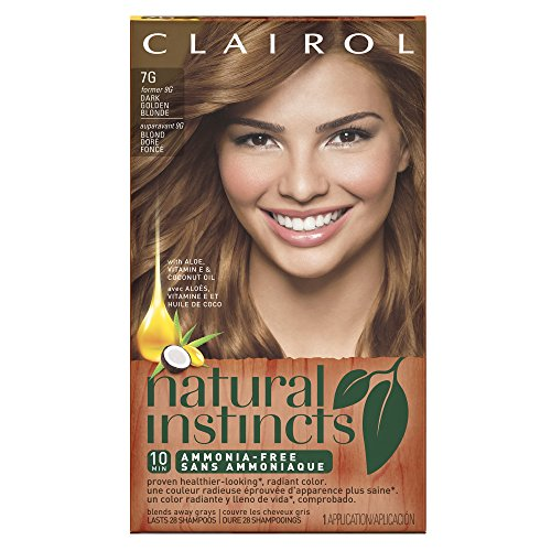 Clairol Natural Instincts, 7G / 9G Golden Honey Dark Golden Blonde, Semi-Permanent Hair Color, 1 Kit (Semi Hair Dye Blonde compare prices)
