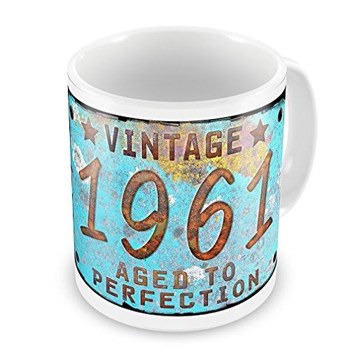 Coffee Mug Vintage Year 1961, Born/Made - Neonblond