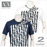 【正規店買付】ARMANI EXCHANGE ax-814 アルマーニ エクスチェンジ オプティックロゴ Tシャツ(2色)【並行輸入品】