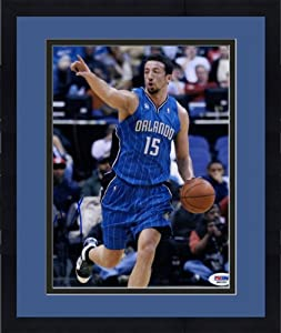 Framed Autographed Hedo Turkoglu Orlando Magic Photo - 8x10 - PSA DNA Certified -... by Sports Memorabilia